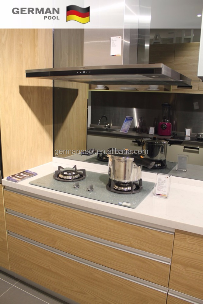 New Model Customized Practical Moistureproof Acrylic Homely Furniture Modular Kitchen Cupboard