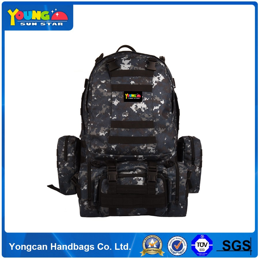 New design camping military bag durable outdoor customized back army tactical backpack