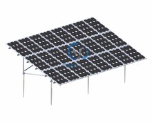 PV Panel Support System Solar Module Structure Mounting Brackets