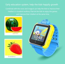 Phone call GPS locating GPS tracker smart watch for kids
