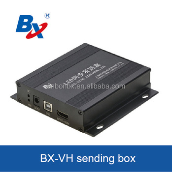 BX-VH synchronous full color sending box video wall display led sign