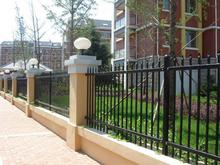 Brand new pvc coated ornamental wrought iron fence made in China
