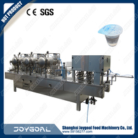 2016 latest model water cup filling and sealing machine