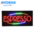 Flasher Envios de Dinero Shop LED Advertising Screen, LED Moving Sign Factory Supplier