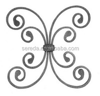 wrought iron rosette scroll used for fence/gate/stairs 2231