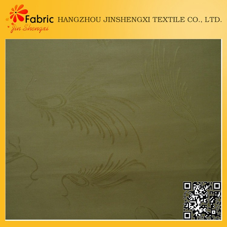 China factory high quality products quilting jacquard organic cotton sateen fabric