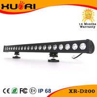 Super Slim led light bar single row led light bar 12v 24v automotive led lights for off road vehicles