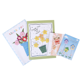 Greeting card greeting card direct from guangzhou endian printing latest fancy 3d custom handmade thank you greeting paper card m4hsunfo