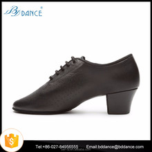 leather jazz shoes women practice dance shoes T1-b