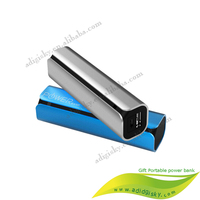 Mini Metal Portable Power Bank 2600mah