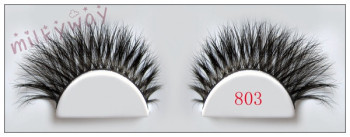 Milkyway new style crossing double layered horse hair lashes