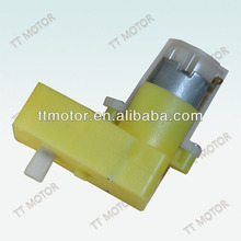 6V low speed dc plastic gear toy motor