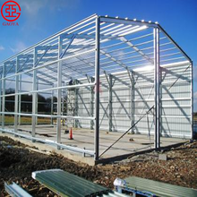 Prefabricated steel structure warehouse building used for sale