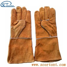 SG01 leather welding sleeves for welders