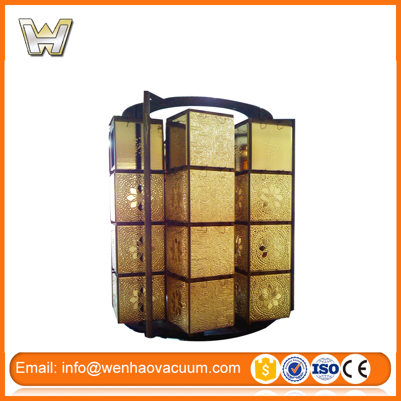 Ceramic Tiles,Pottery,Porcelain Vacuum PVD Coating Machine with gold color