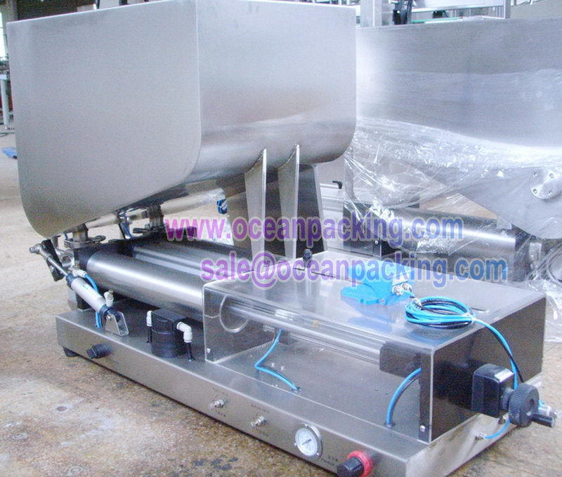 Special promotional shapoo/cream filling capping machine