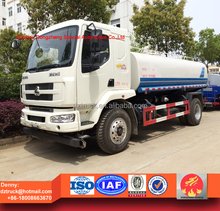 Dongfeng chenglong 12000liters 4X2 water truck for sale