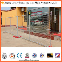 America popular used metal wire mesh temporary chain link fence