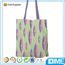 100% Cotton Packaging Bag Cotton Shopping Bag With Roller