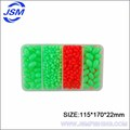 JSM Wholesale High Quality colorful Plastic Beads Flying Fishing ,Fishing Beads Fishing Float Fishing Tackle