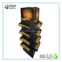 paper cardboard display stand / trays for small commodities