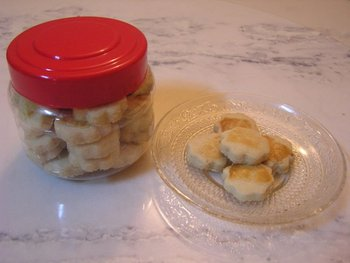 Home-made Crispy Suji Cookies