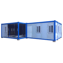 uganda prefab solar panel green container chalet house
