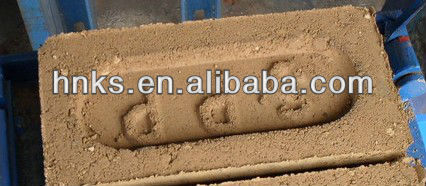 automatic production line clay brick machine with print word