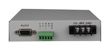 Optic modem RS485 to fiber converter various data type option , such as rs232 ,rs422 , rs530 , V.35