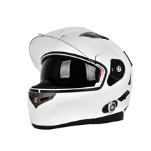Motorcycle Half Open Face Leather Helmet with Goggles Four Seasons Helmet