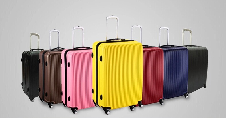 China factory!Fashion urban style trolley luggage hard case trunk