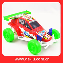 Red Motorcycle Race Plastic Develop RC Toy Car