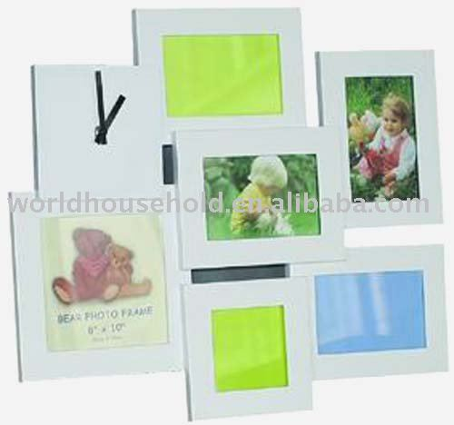 2011 bestseller photo frame wall clock