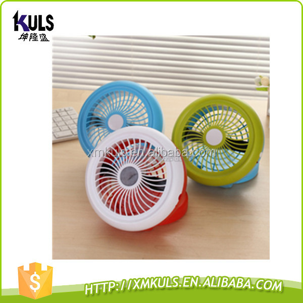 Big Discount Super Mute Mini Electric Silent Portable Cooler Cooling Desktop Desk USB Fan