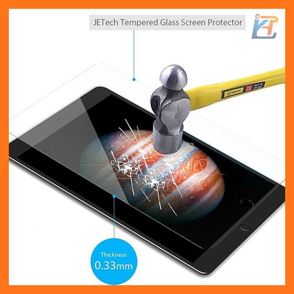 High quality tempered glass screen protectors for new design ipad pro