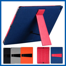 C&T Luxury PU Leather Flip Wallet Case Magnetic Kickstand Cover Case for Apple iPad Pro 12.9 Inch