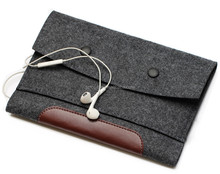 Protective Woolfelt Laptop Sleeve For MacBook Air/Pro