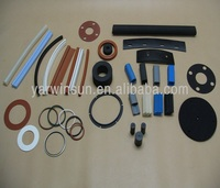 custom rubber plastic silicone products/rubber metal fittings/rubber to metal