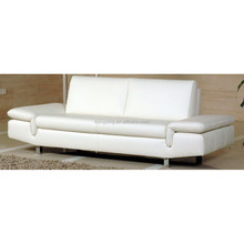 high quality new model pure white leather sofa