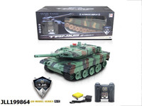 High quality best sell 1:20 12ch 2.4G rc tank toy car model