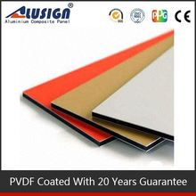 Alusign fastness decorative acp materials with high quality retaining wall materials