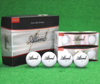 3 Piece Rubber Surlyn Atiemb White Match Tournament Golf Ball (1 Box 12 pcs)