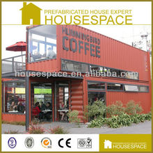 Low Cost Waterproof coffee shop container house