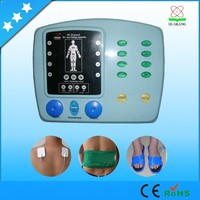 New product physical therapy russian wave electric muscle stimulator with electrodes