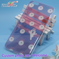 Wholesale Customized printed phone transparent tpu case covers
