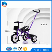 new arrival tricycle for children/baby toys trikes with push bar/factory price kids tricycles