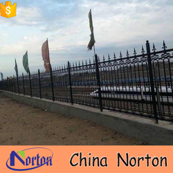wrought iron fence powder coated manufacturer home decorative NTIRG-214X