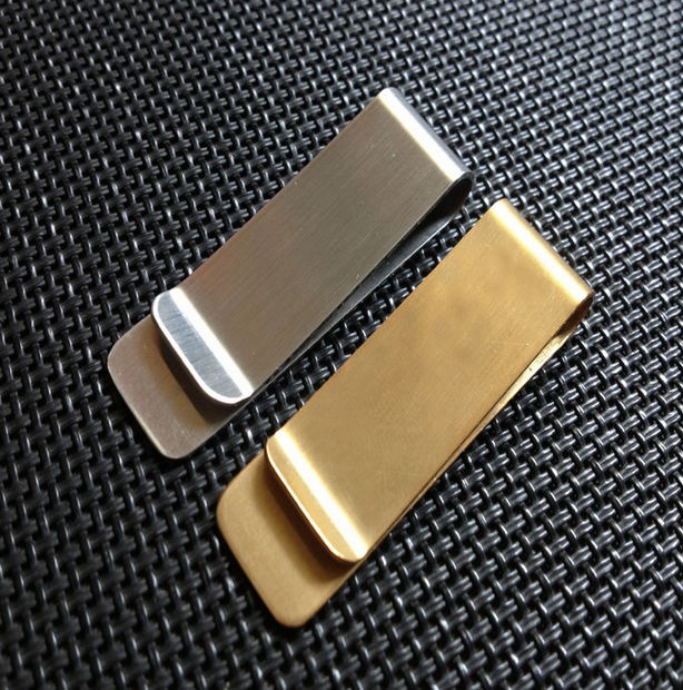 custom gold metal coins folder high quality money clips for friend