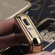 flat metal carry usb lighter , hot selling lighter keychain With Customize Logo