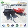 Australia powder coating strong box utility trailer with cage for sale